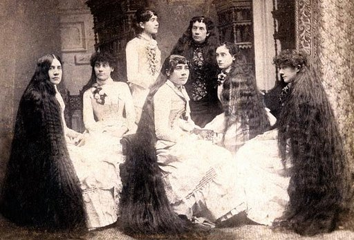 The Story of the Seven Sutherland Sisters