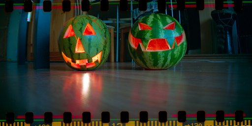 Frightening Halloween Glow with Watermelons!