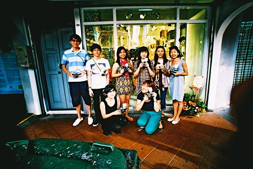 Lomography Gallery Store Singapore's First Diana F+ Workshop