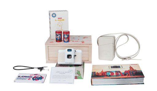Lomo LC-A+ White Special Edition - 1,000 Pieces Only!