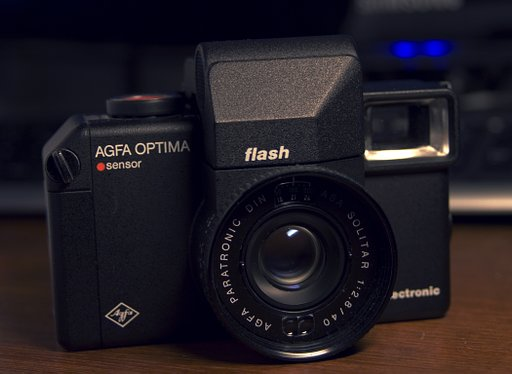 Agfa Optima Flash Electronic Sensor: Bulky Camera, Bulky Name