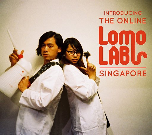 Introducing the Online LomoLab Singapore!