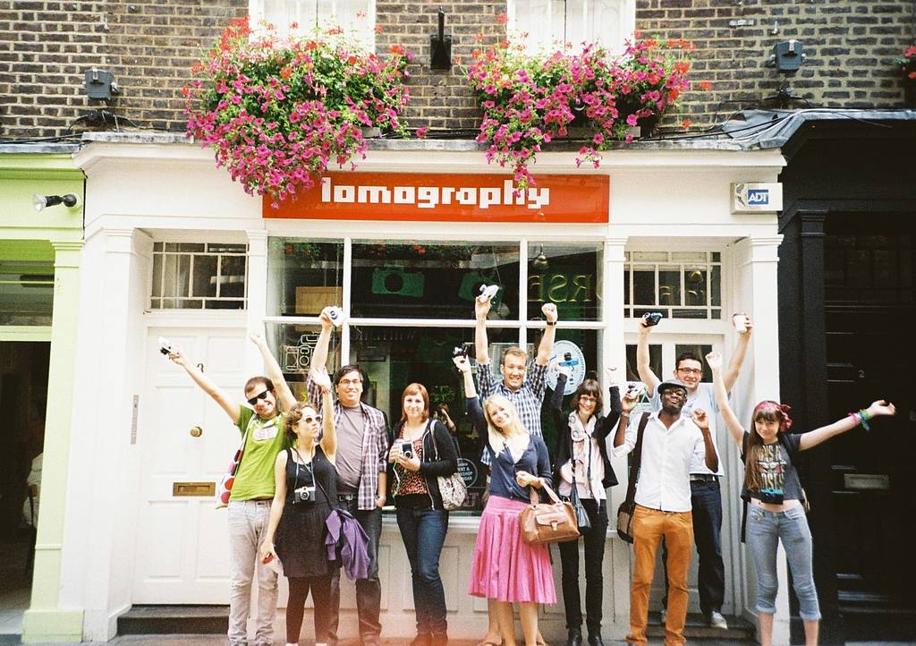 The complete NOVEMBER Workshops & Events schedule @ Lomography Gallery Store Soho