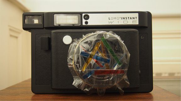 Lomography Tutorials: How to Make Colored Lens Filters for Your Lomo'Instant Wide