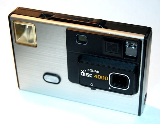 The KODAK Disc 4000: The Future in the Past!