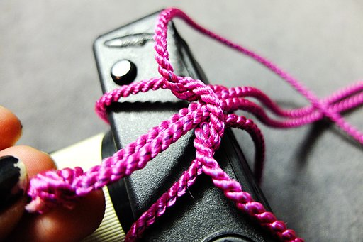 Simple Lanyard for your La Sardina, Fisheye, Holga and Sprocket Rocket