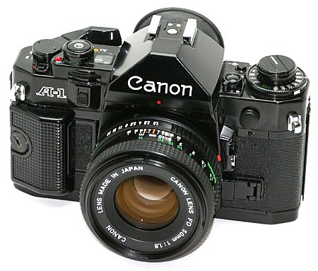 Canon A-1 35mm SLR: Manual Merriment