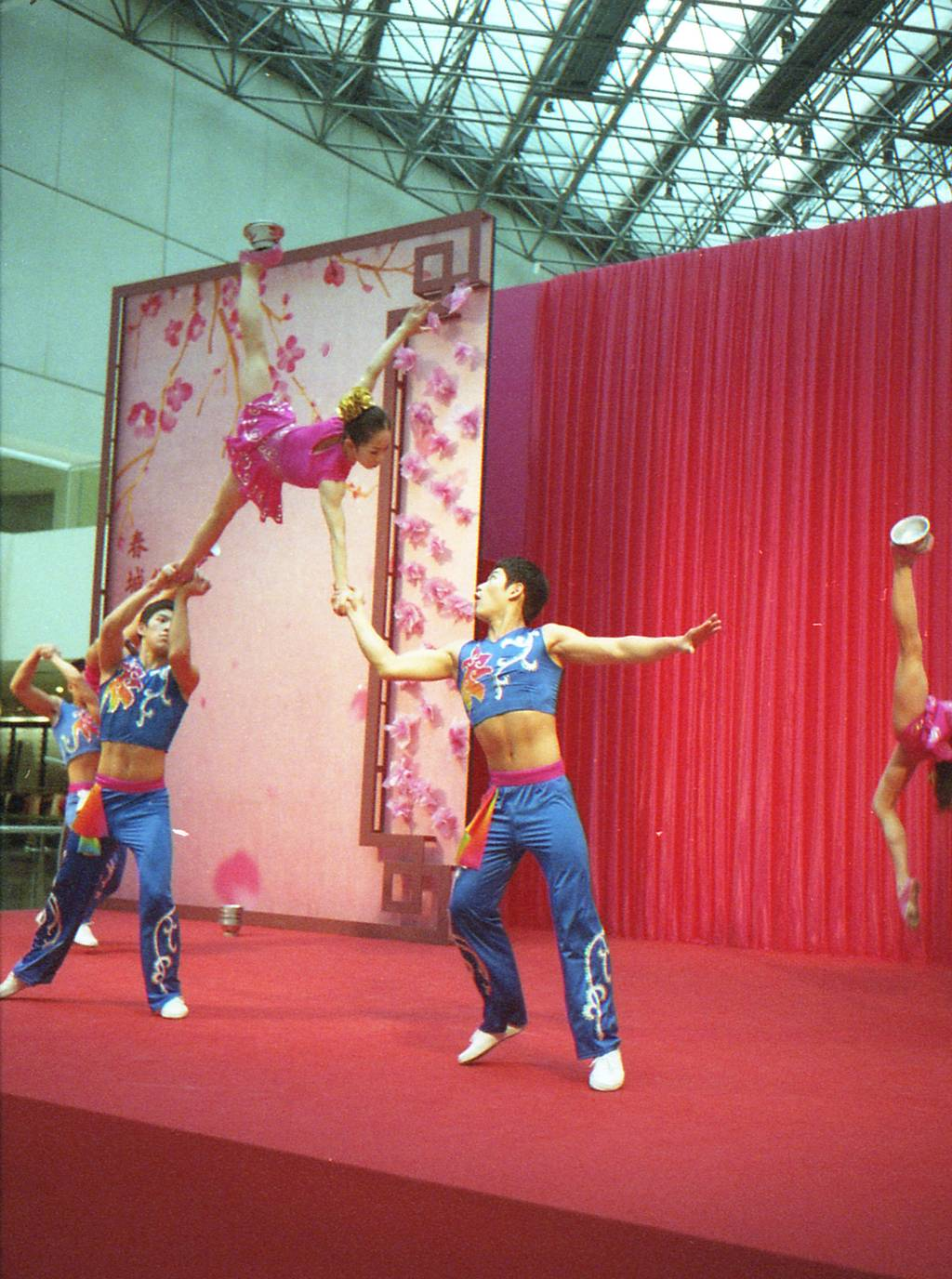 An Acrobatic Performance by China's Guangxi Youth Troupe