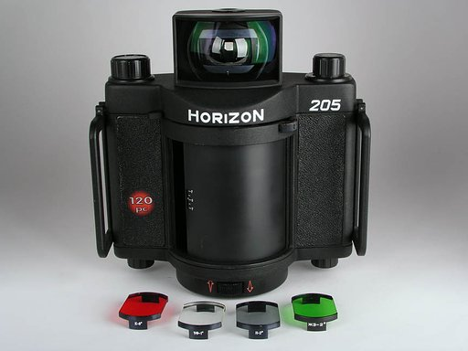 HORIZON 205 - MEDIUM-FORMAT PANORAMIC CAMERA