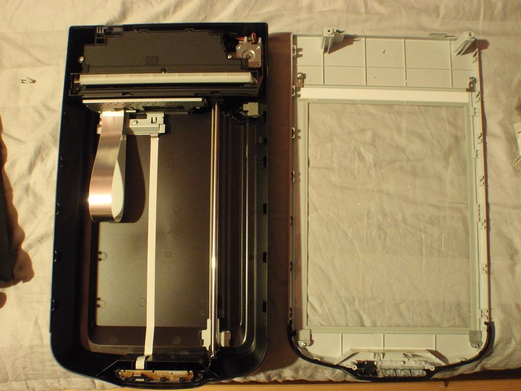 Cleaning the Internal Glass of an Epson Scanner