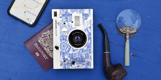Lomo'Instant Camera and Lenses (Explorer Edition)