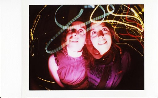 Experimental Shots with Instant Photos
