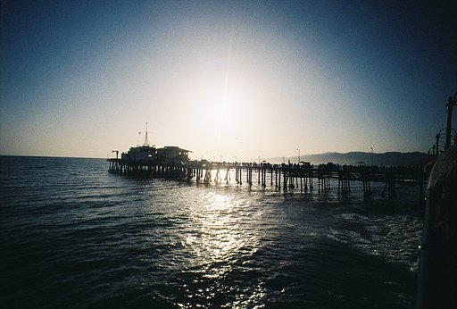 Photos From the Lightleaks at the Pier Workshop at Lomography Gallery Store Santa Monica