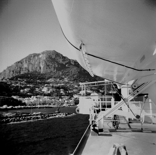 From Naples to Capri: My First Adventure in Black and White