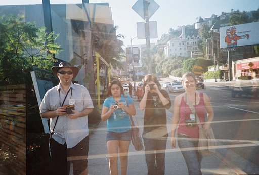 Re-Cap of Multiple Exposures with Multiple Personalities at the Lomography Gallery Store LA!