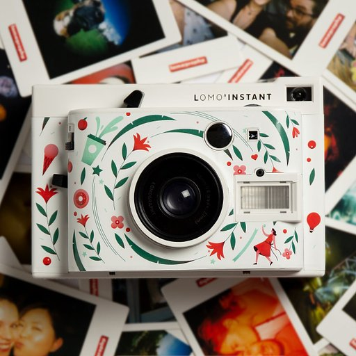 Through the Years: Customized Lomo'Instant Cameras