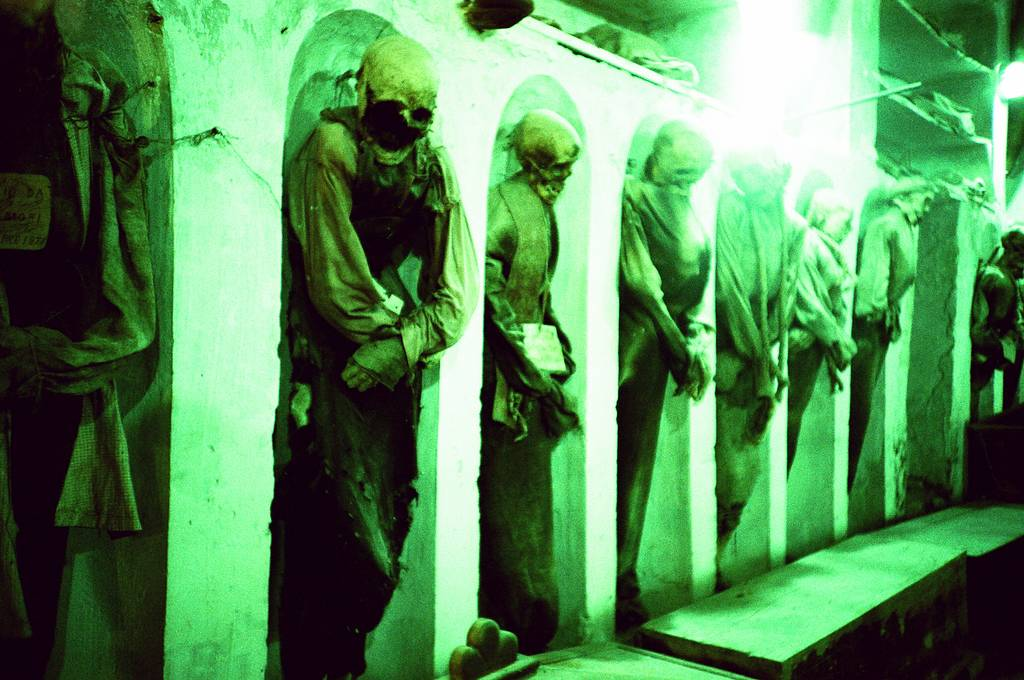 The Capuchin Catacombs in Palermo, Sicily