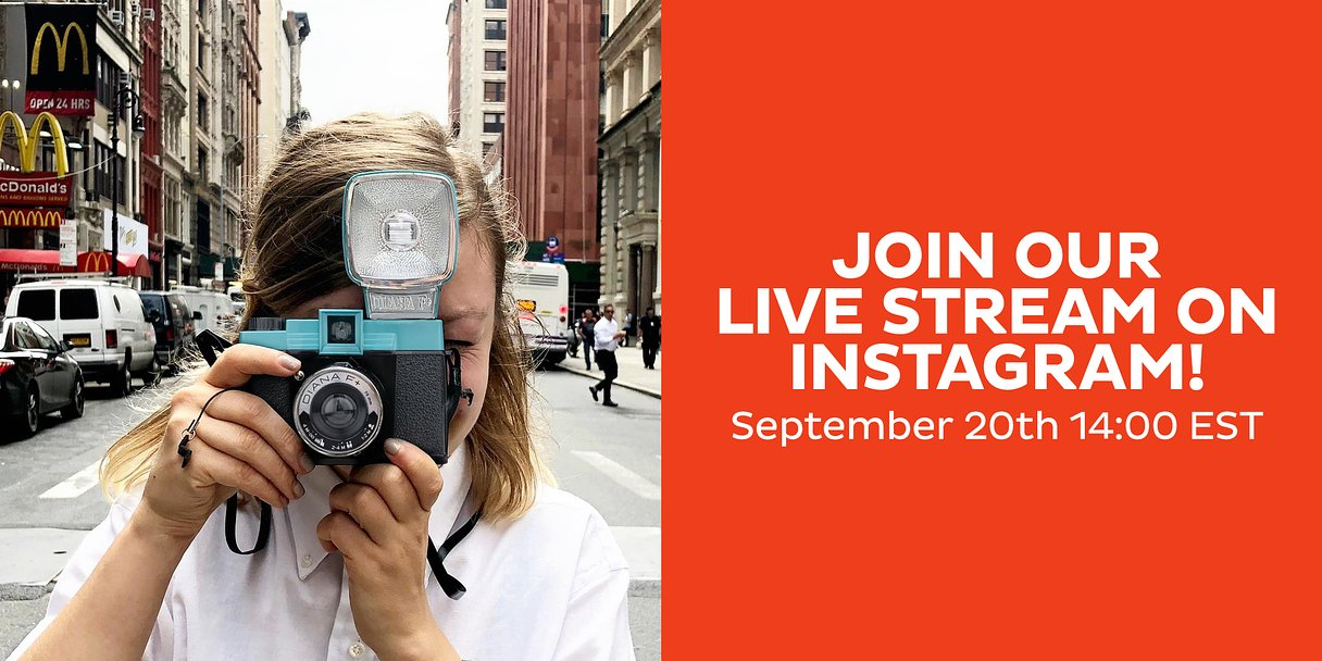 Join Us for Our Instagram Live Stream in New York!