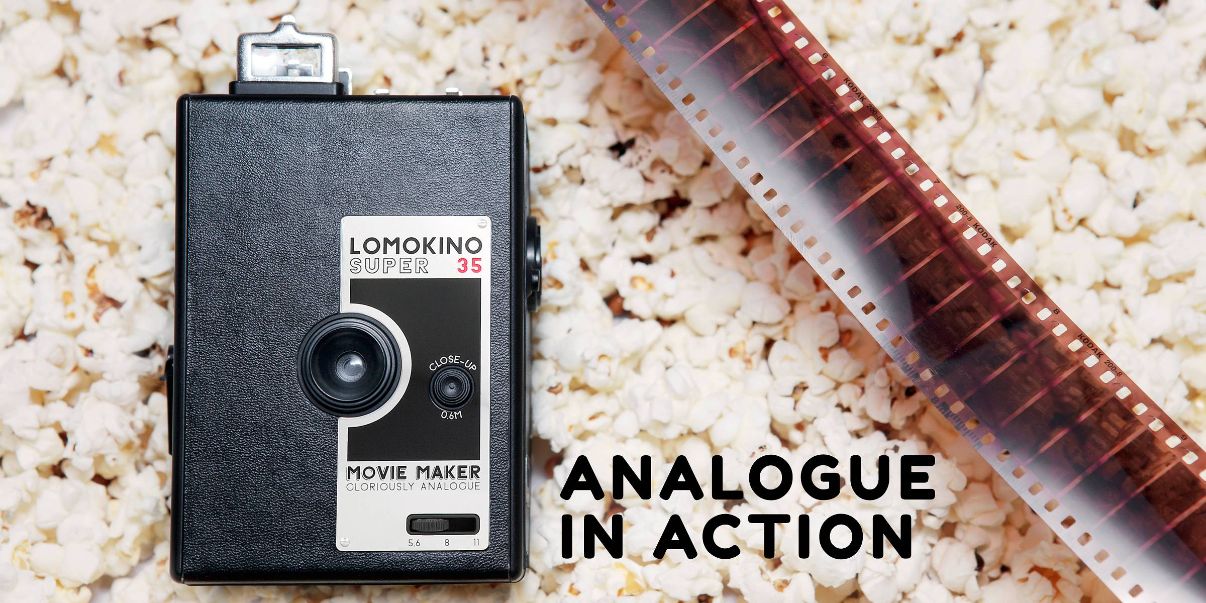 Make a Movie on 35 mm with the LomoKino