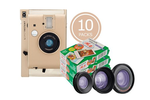 Get up to 20% off on Instax films when you grab the Lomo'Instant Yangon Bundles!