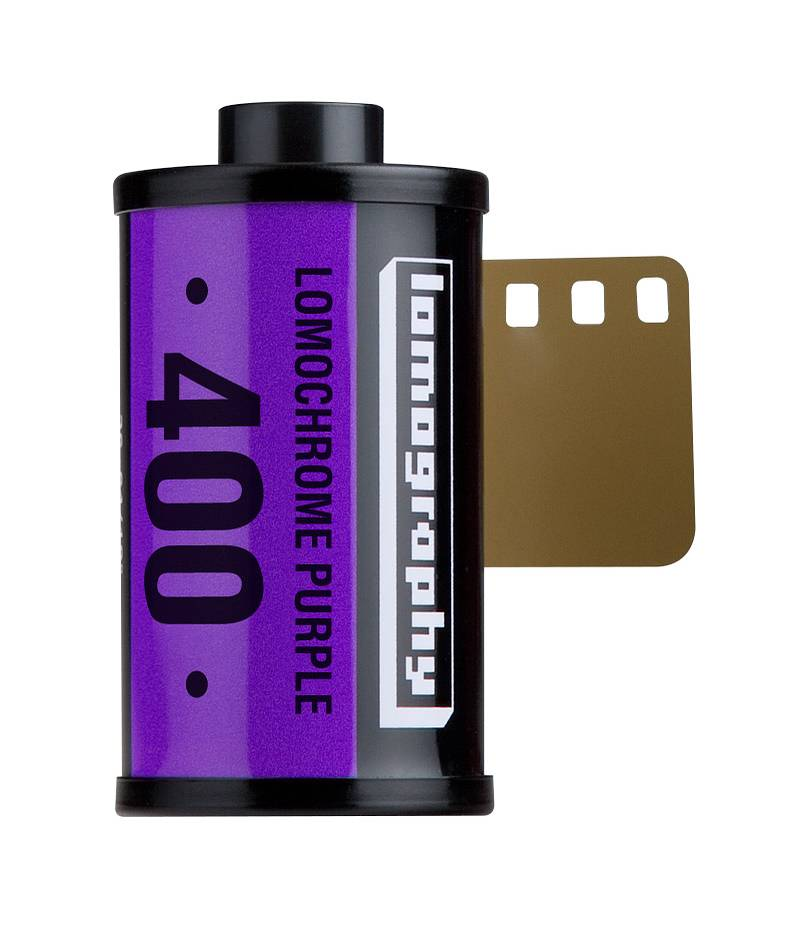 Lomochrome Purple 35mm - Limited Extra Stock Available!