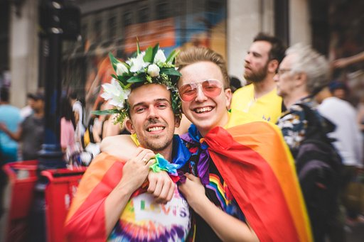Happy Faces: London Pride Parade with Petzval 58 Lens by Laura Laviani