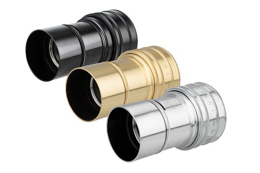 Brass, Black or Chrome - Chose your Daguerreotype Achromat 2.9/64 Art Lens