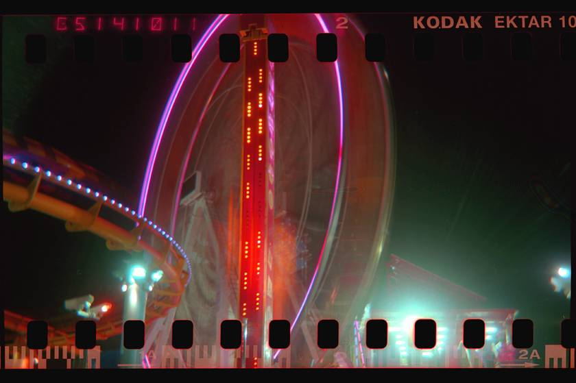 The Night Time Is The Right Time To Be With Your Holga 120N!