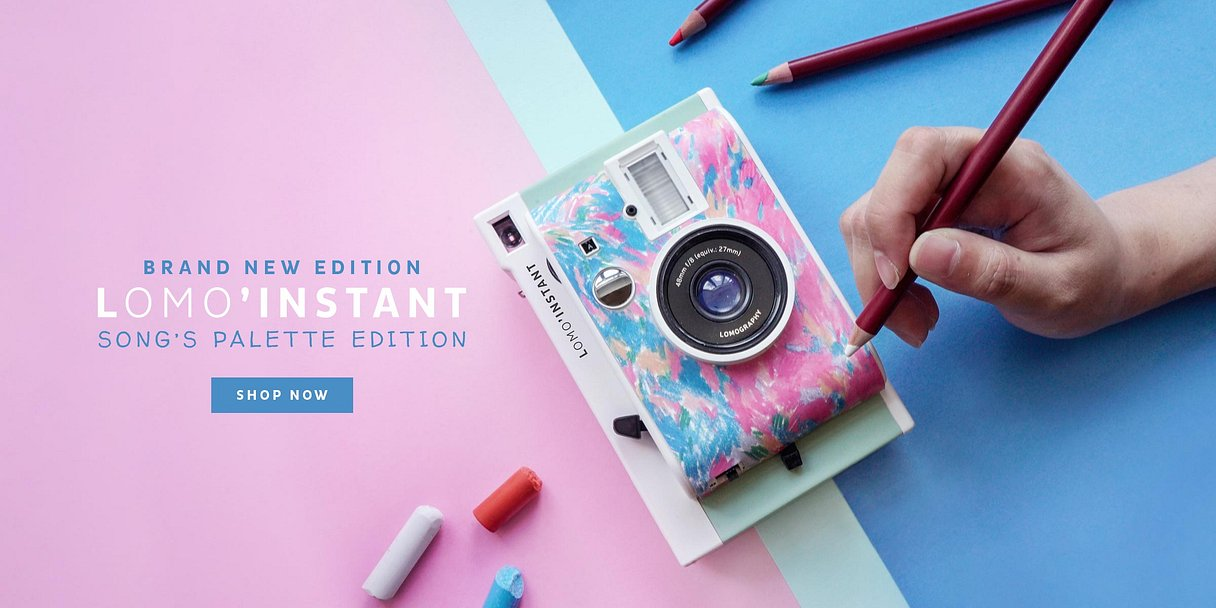 Lomo'Instant Song's Palette Launch