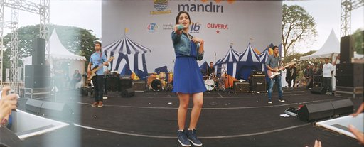 Happenings on Film: Raisa gig in my hometown, Bandung, Indonesia