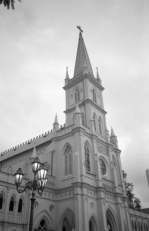 Charming CHIJMES in Black & White