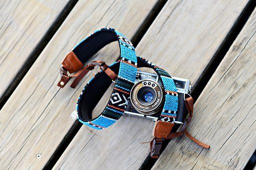 iMo Indian Blanket Camera Strap back in stock!