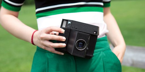 Le Lomo'Instant Square Glass Black