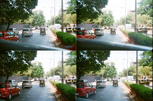The Streets of Mumbai with my ActionSampler
