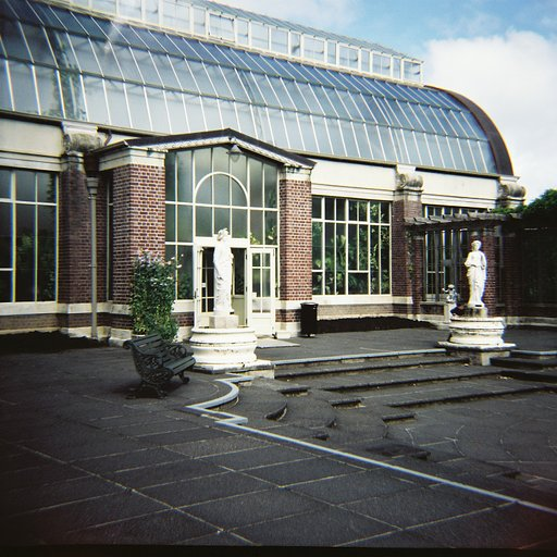 Inaugural Auckland Lomography Meet Up: Auckland Domain Wintergardens