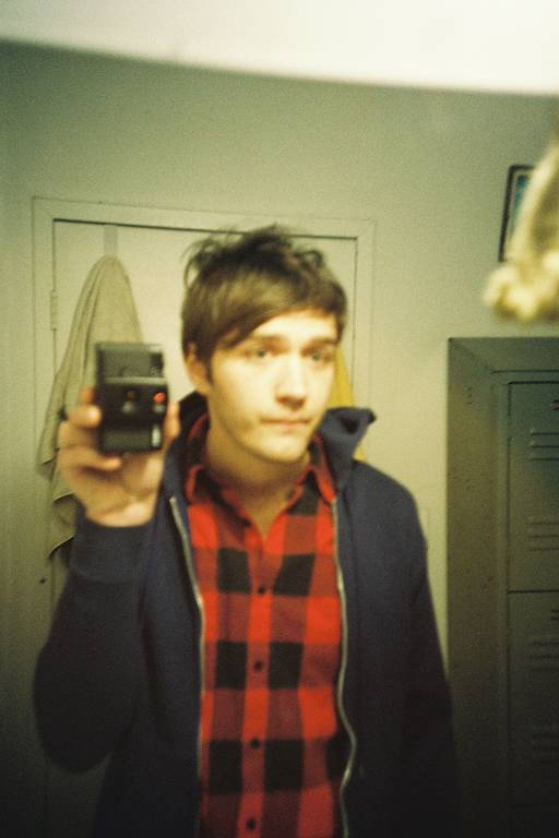 Chris Bear of Grizzly Bear shoots with the Lomo LC-A+