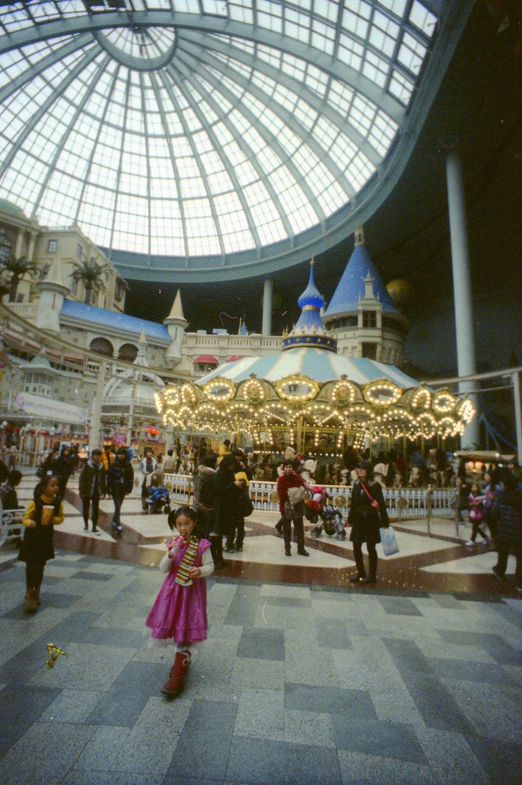 A Fun Afternoon in Lotte World, Seoul