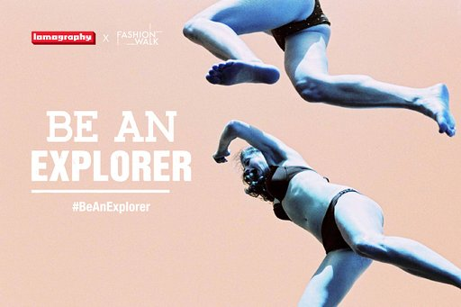 "Lomography x Fashion Walk-""Be An Explorer"" Campaign"