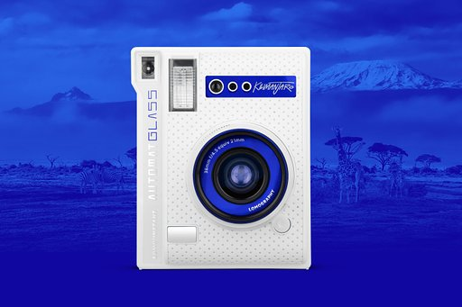 Dit is de Lomo'Instant Automat Glass Kilimanjaro