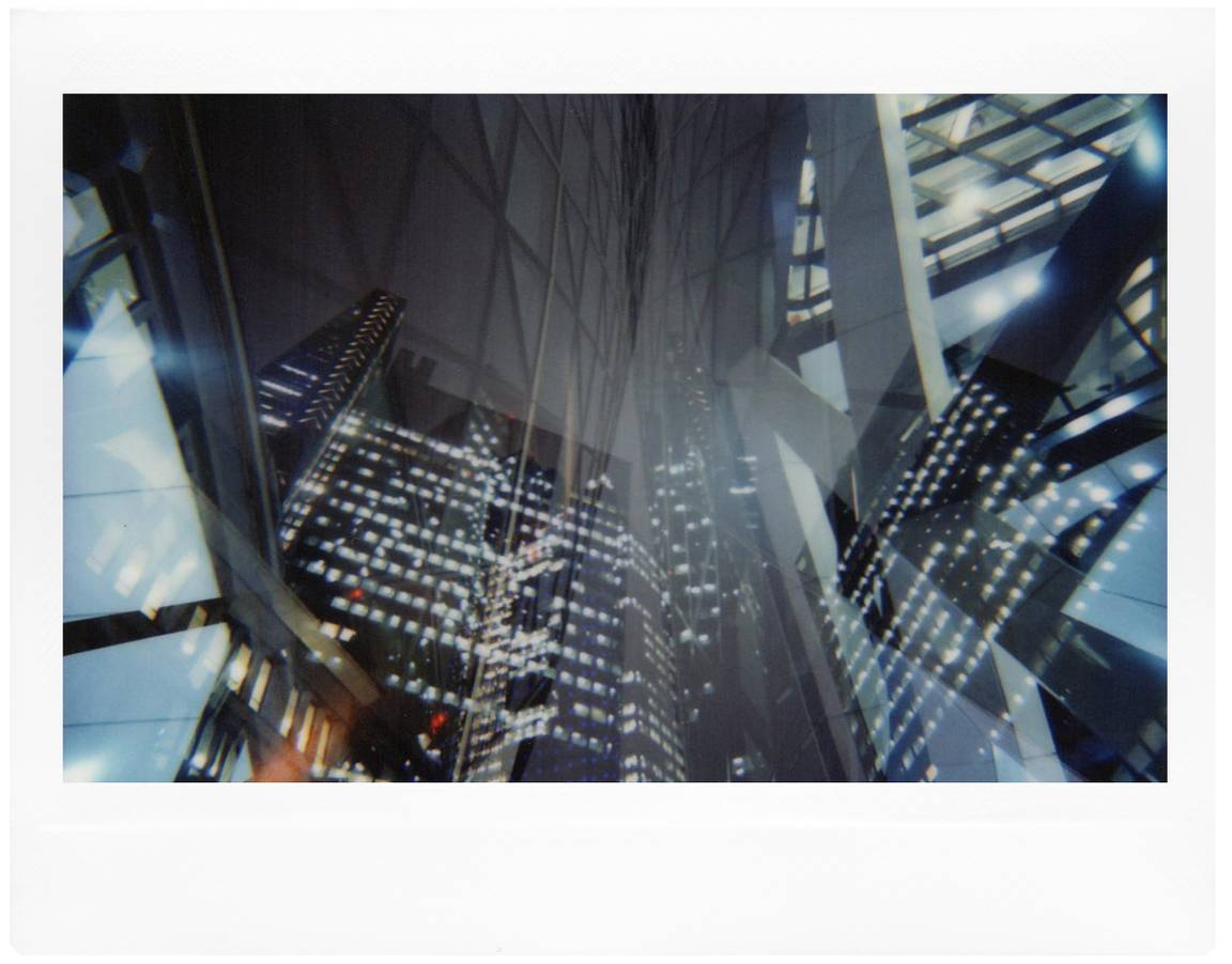 Andrea Zvadova: A Multiple Matrix with the Lomo'Instant Wide