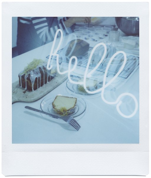 Pâtissier Heidi Tests the Lomo'Instant Square