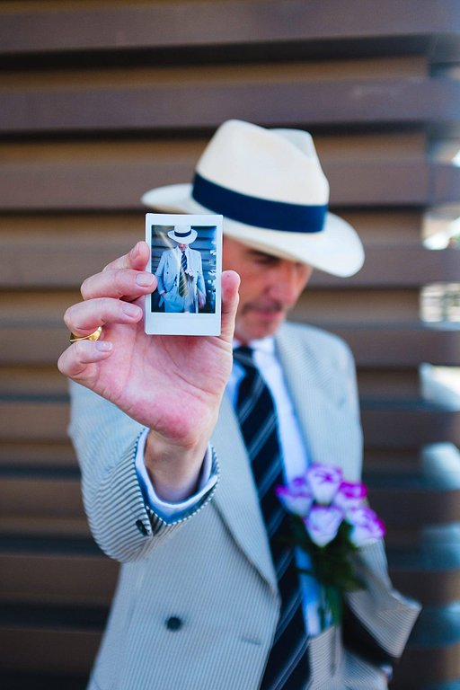Instax Pitti: Alessandro Michelazzi with the Lomo'Instant Automat