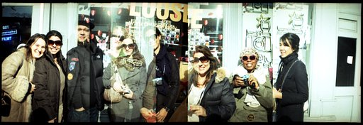 Diana Mini Workshop @ Lomgraphy Gallery Store NYC Greenwich Village