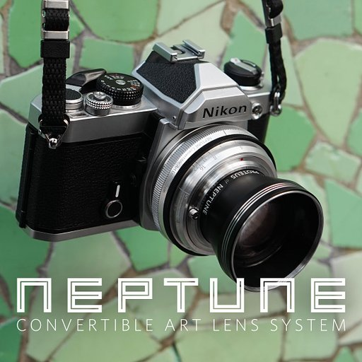 Get great freebies when you back the Neptune Convertible Art Lens System on Kickstarter!
