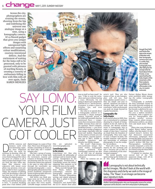 Lomography in Mid Day
