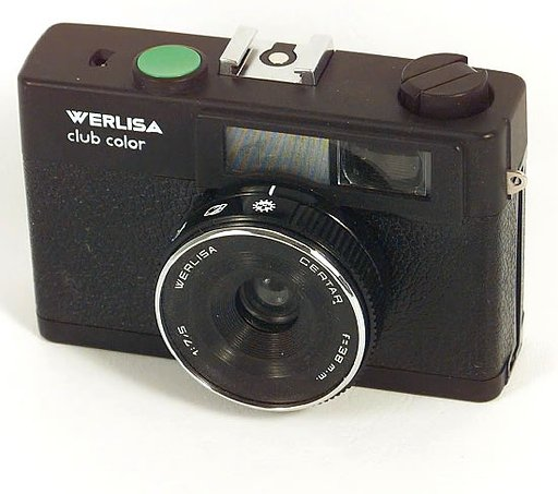"Werlisa Club Color: a typical spanish ""simple & cheap"" camera."