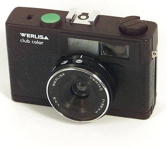 """Werlisa Club Color: a typical spanish """"simple & cheap"""" camera."""