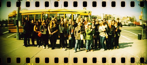 RECAP: Secret School Bus Trip in NYC - April 9th 2011