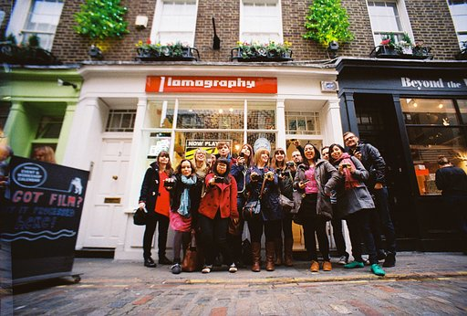 Lomography Soho London Workshops and Events in June 2016