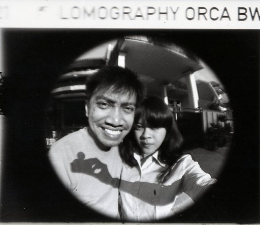 Lomography Orca 110 B&W Film : The Film for your Fisheye Baby!